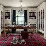 A 1924 Georgian Home Gets a Bold, Artful Makeover—With Lots of Plaid